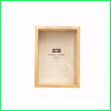 盒子相框實木 11x17 14x18 12x16 16x20 inch 木紋色自然色原木色