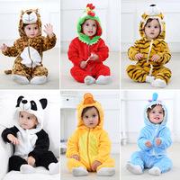 Трансграничная детская одежда, цельный комбинезон на весну и осень 2019, фланелевый комбинезон, новый комбинезон ins одежда для новорожденных