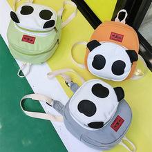 2018 熊猫创意款儿童背包卡通幼儿园小书包男女孩宝宝可爱双肩包