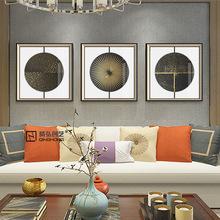 新中式装饰画酒店壁画客厅禅意现代挂画餐厅卧室玄关沙发背景墙画
