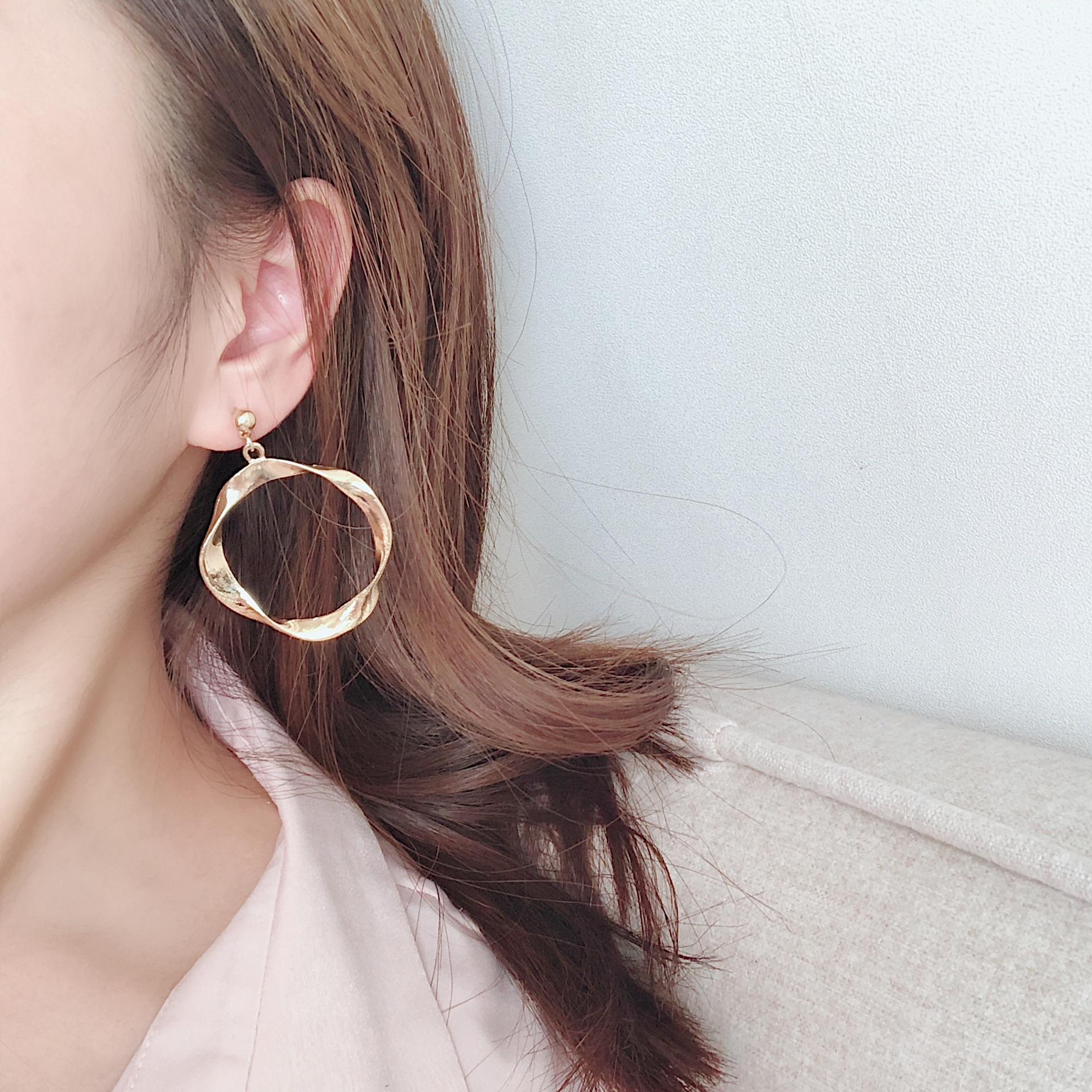 Alloy Fashion Geometric earring  (Alloy) NHYT1407-Alloy