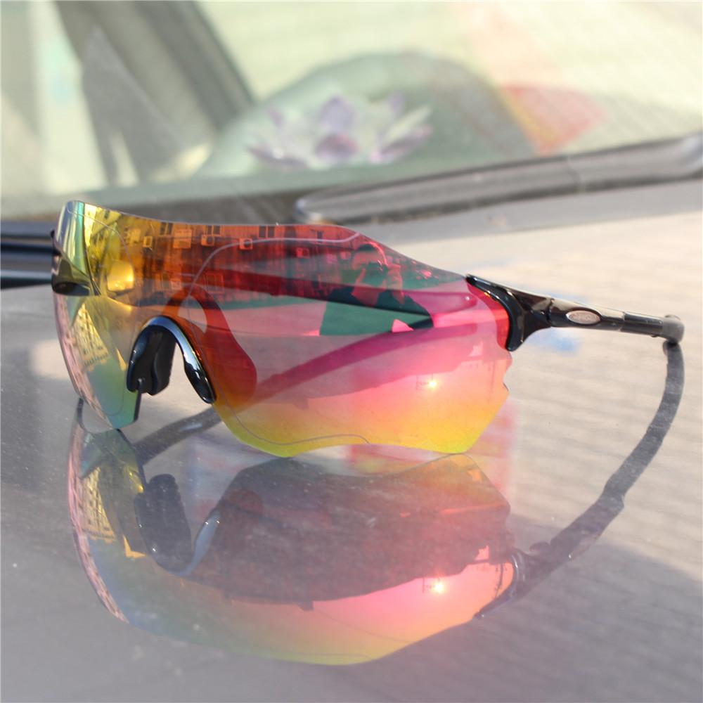 EVZERO EV太阳运动跑步眼镜骑行眼镜超轻TR90全面炫彩镜片