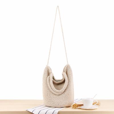 She said Sen is a versatile one shoulder hand woven bag, bohemian holiday straw bag