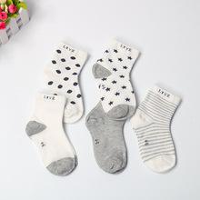 春秋款儿童网眼袜薄舒适透气男女童全棉袜时尚宝宝袜子厂家直销