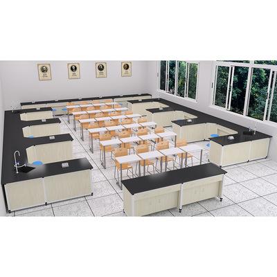开放式走班制教学实验室-安徽省-蚌埠市-理旺-走班制-钢木-实验室