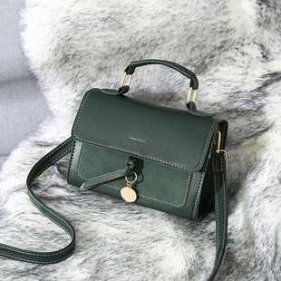 Spring new small bags, women's bags, 2020 new trendy Korean version of the wild one-shoulder messenger bag fashionable simple small square bag