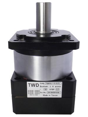 汇川750W伺服电机配TWD精密行星减速TSB090L2-50-14-50精度6弧分