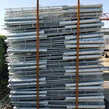 水泥灌注樁定制批發熱鍍鋅鋼筋預埋樁微孔鋼管樁太陽能光伏地樁