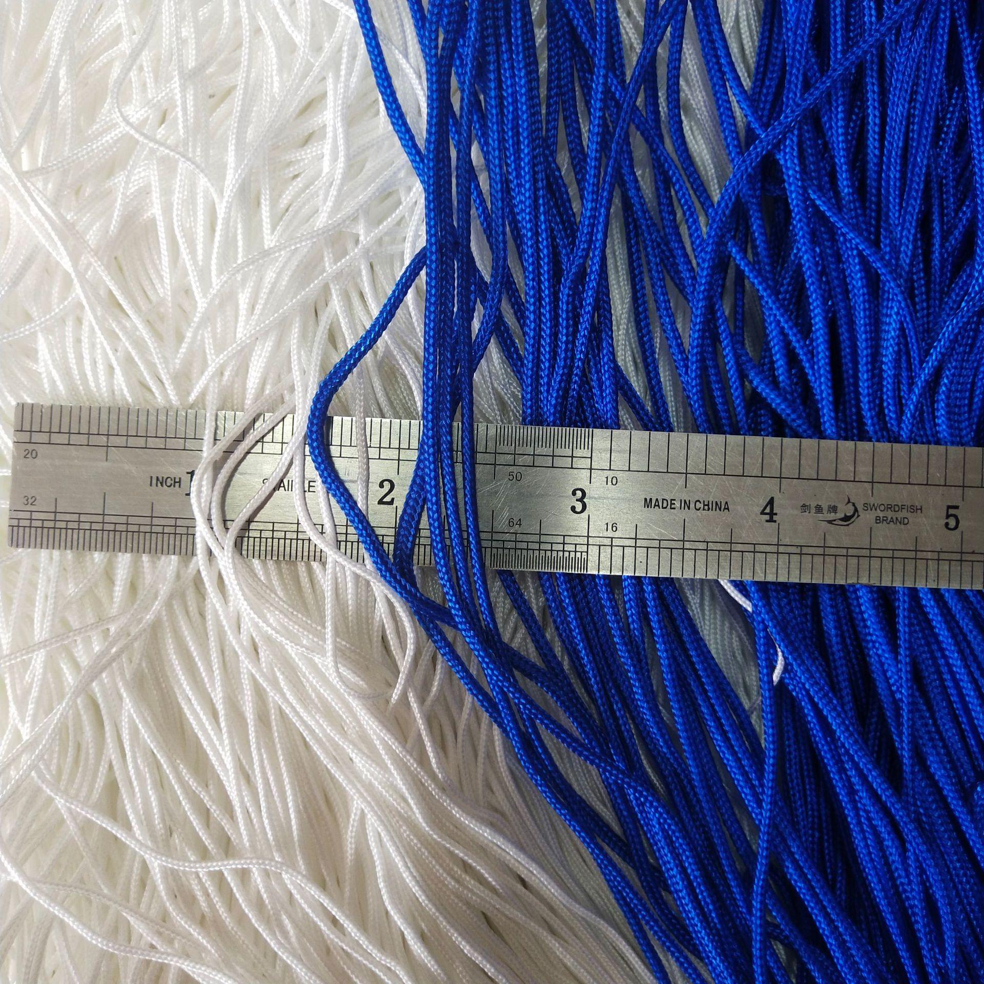 尼龙绳 拉绳123mm渔具钓鱼捆绑绳 高强耐磨涤纶窗帘绳 工厂批发