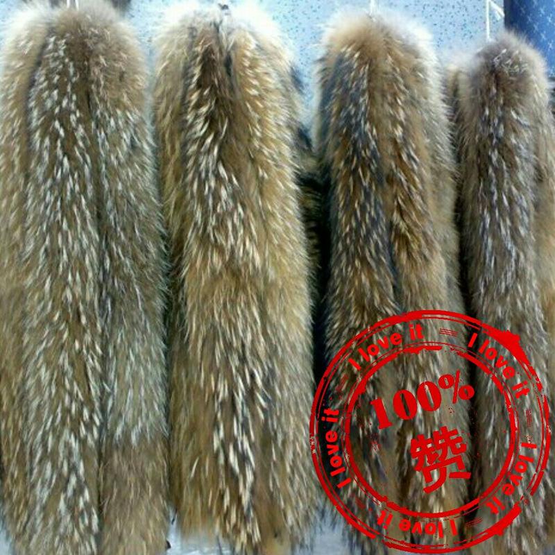 厂家直销貉子毛领帽领质量保证保暖真皮狐狸毛领定制批发