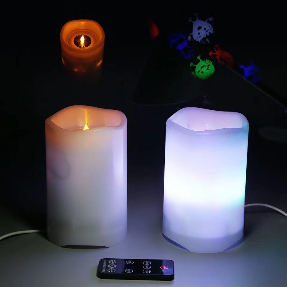 中山博浪电子  LED节日蜡烛投影 星空灯 婚礼蜡烛灯