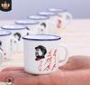 复古仿搪马克杯 怀旧经典小号陶瓷杯 水杯礼盒装 厂家直销