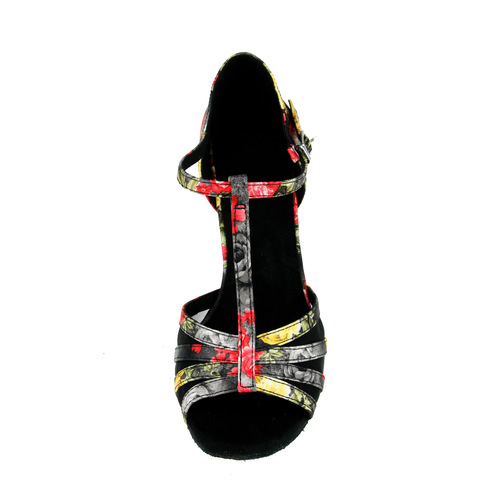 Adult soft sole Latin dance shoes salsa shoes high heel can be customized