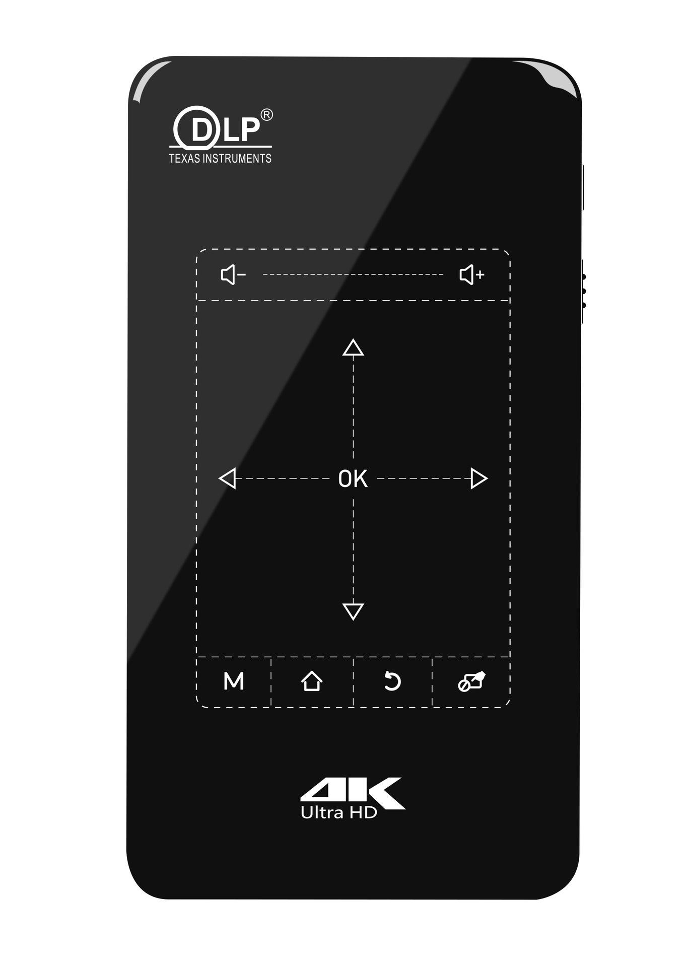 全国联保微型迷你投影机4K 家庭影院便携移动办公智能投影仪