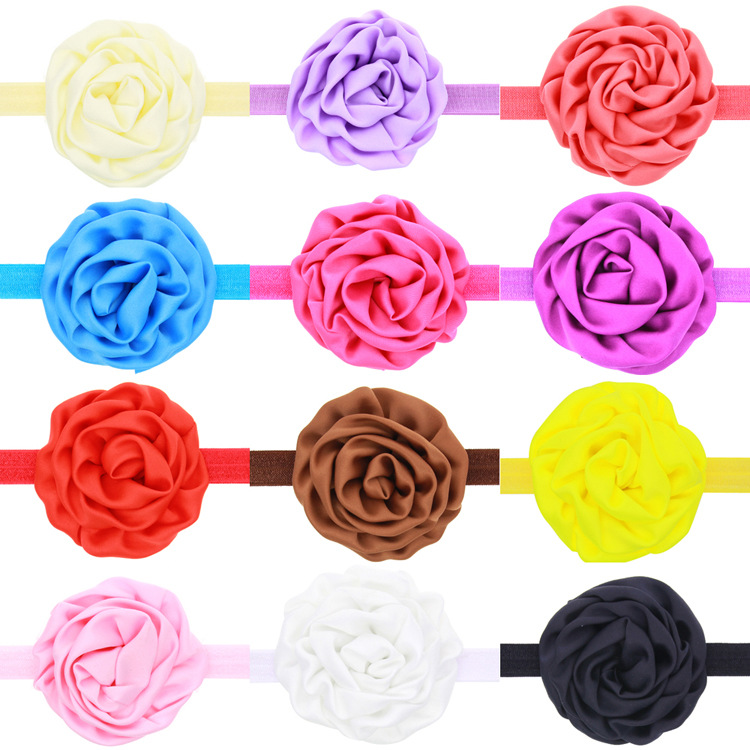 Cloth Fashion Flowers Hair accessories  red  Fashion Jewelry NHWO0872red