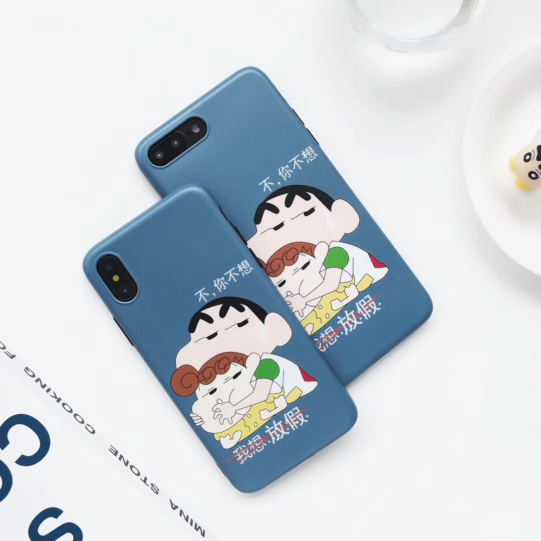 I want holiday for Apple XS/XR/Max mobile phone case OPPO R17 personality VIVOX23 shatter-resistant shell female models