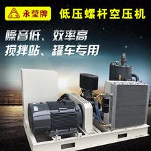低压螺杆空压机 22/37kw低压粉料颗粒输送螺杆空压机 矿用压缩机