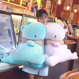 Cute software cartoon dinosaur doll plush toy creative small dinosaur pillow doll to send girls gifts
