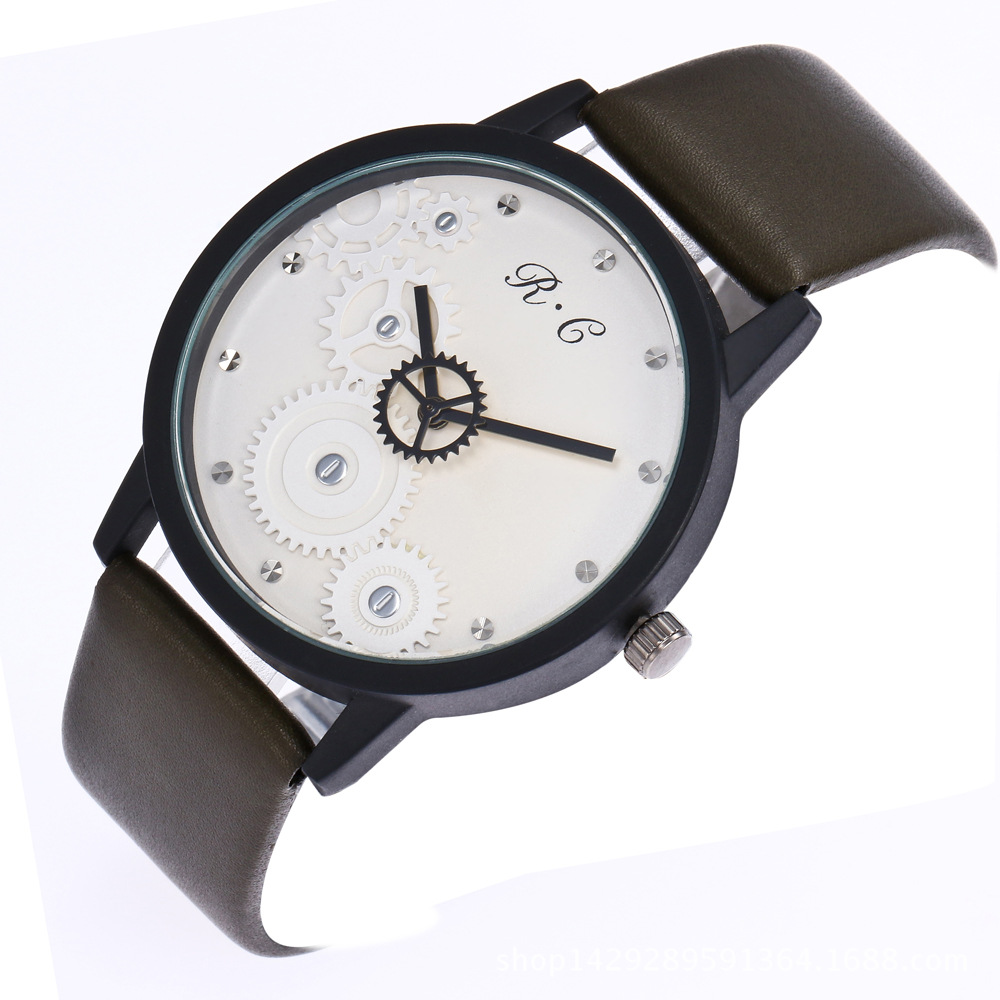 FashionStudent watch(black) NHHK1038-black
