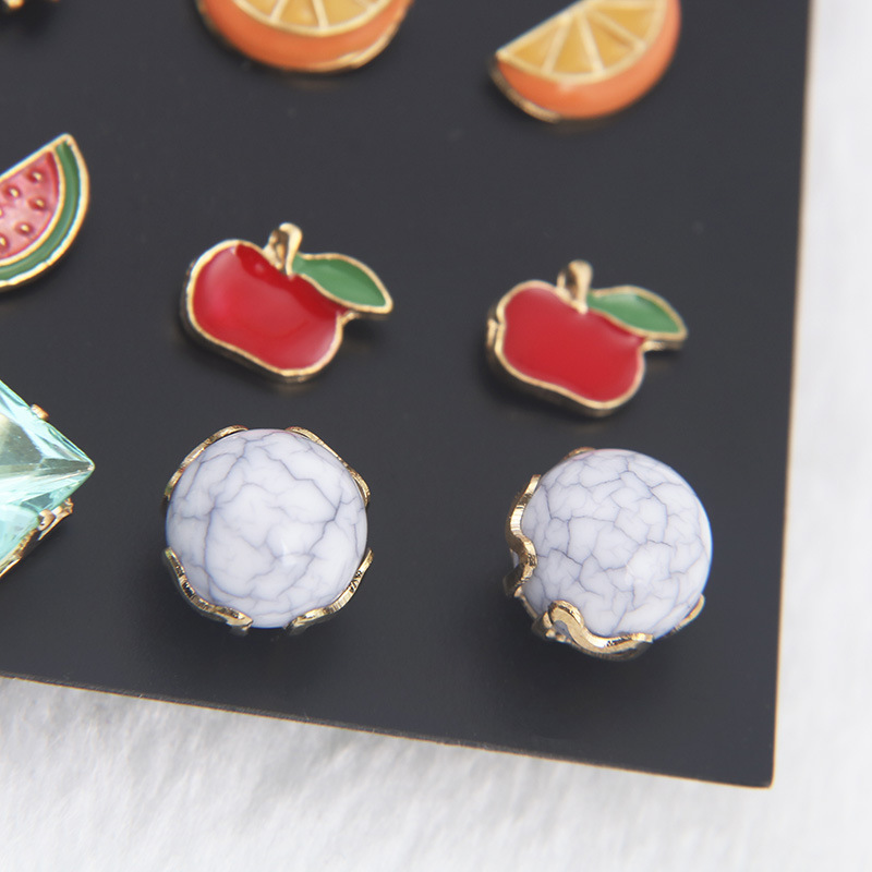 Alloy Fashion Geometric earring  (color) NHSD0307-color