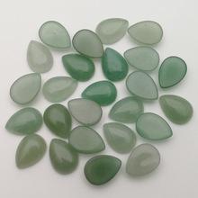 速賣通ebay爆款天然石綠東陵戒面10*14mm半寶石戒面裸石鑲嵌戒指