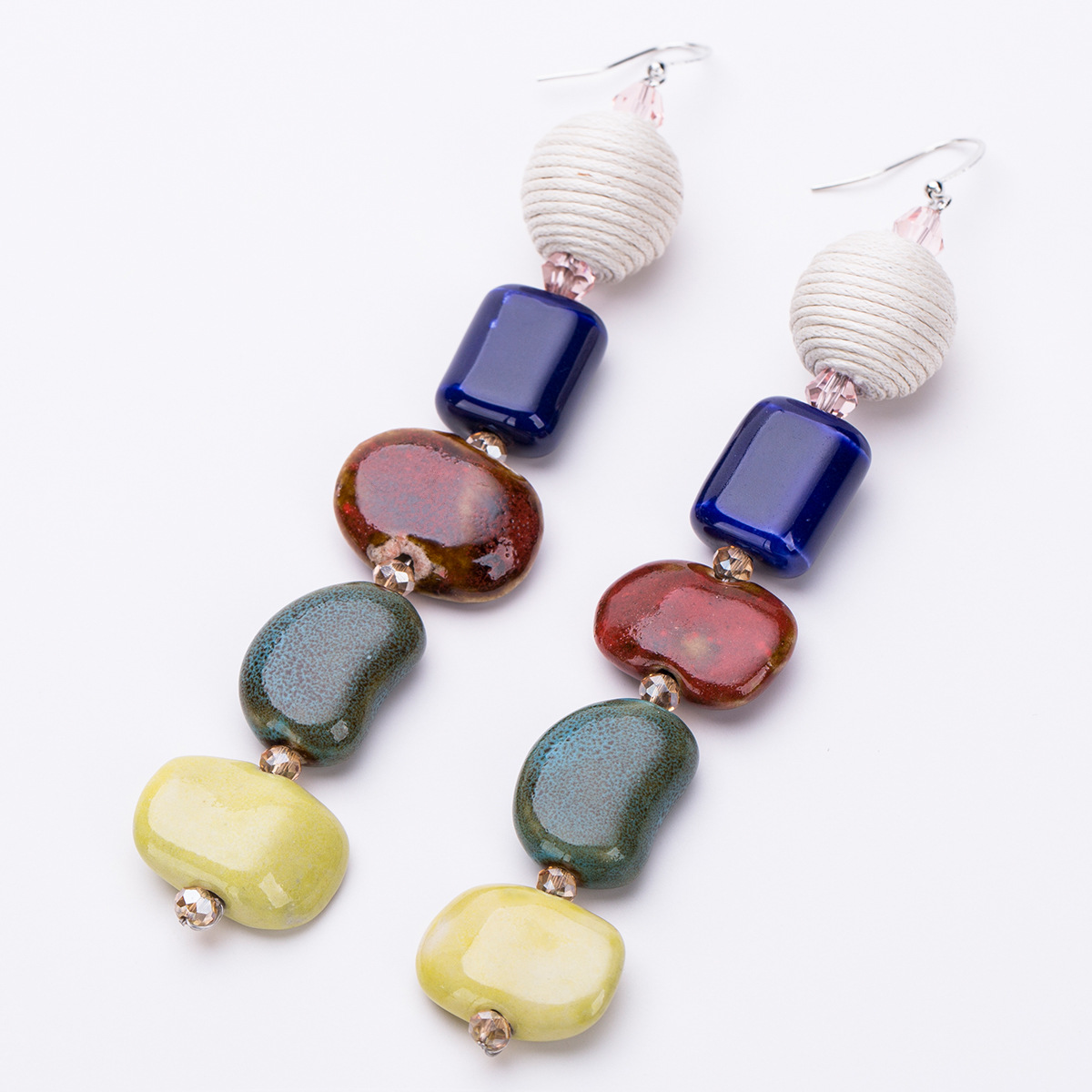Alloy Fashion Geometric earring(color) NHJE1160-color