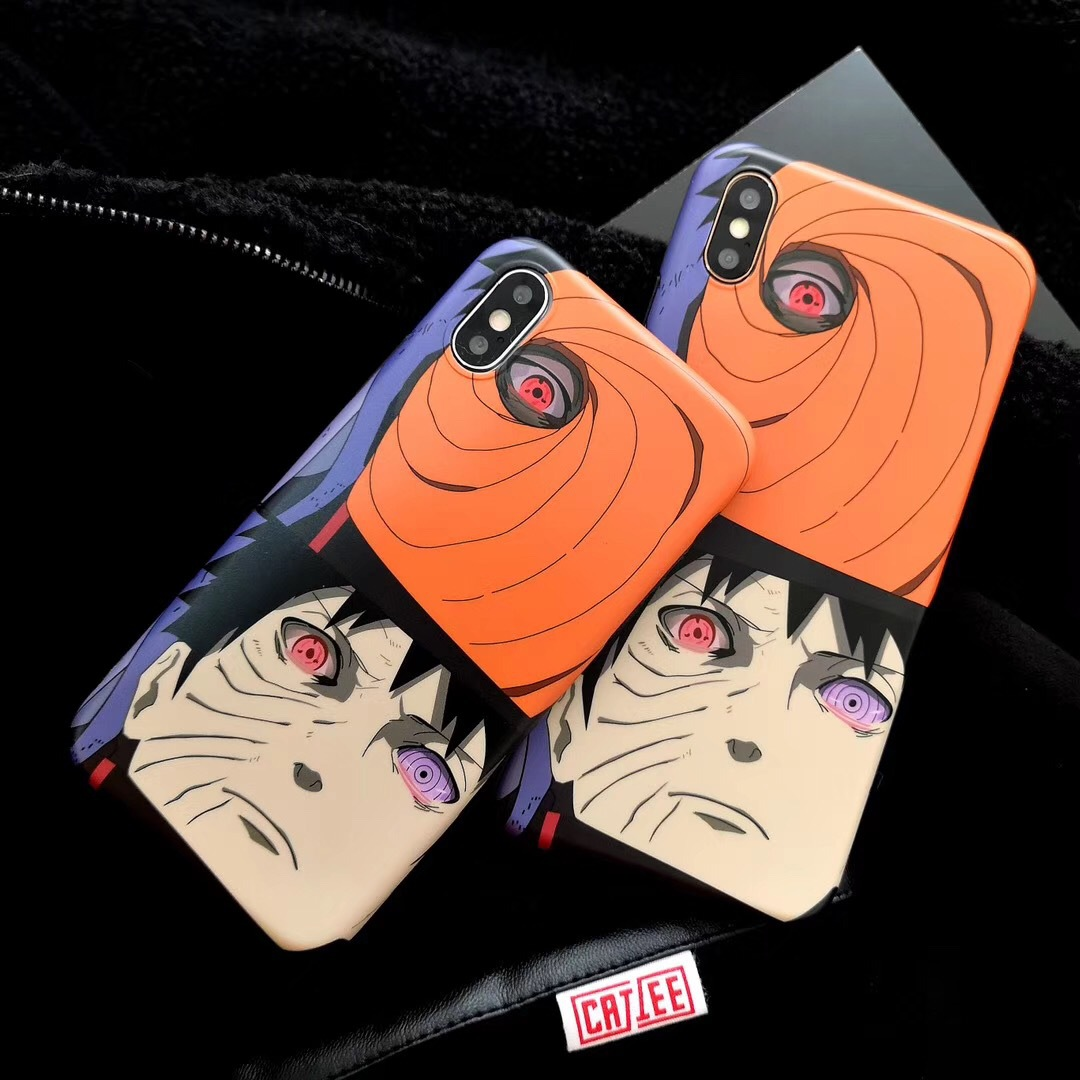 New Naruto iPhoneXS Mobile Shell Scrub Apple 8Plus Cover for Soft Shell 6SP Shell