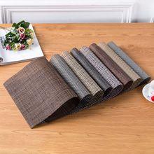定制环保pvc西餐垫 酒店餐厅餐桌精品欧式隔热餐垫桌垫西餐具垫