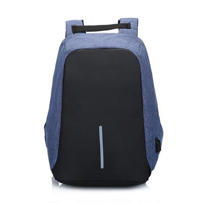 Chống trộm du lịch ba lô nam giới và phụ nữ công suất lớn nylon chống thấm nước túi máy tính USB sạc vai túi cao đẳng túi