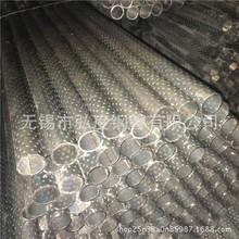 无锡弘度焊管厂规格42*3.0 压花管 滚花管 公交车扶手花纹焊管