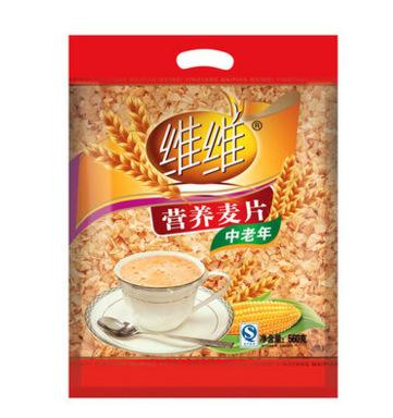 维维中老年营养麦片 560g*1袋健康早餐冲饮麦片