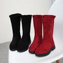 Boots bé gái thời trang, thiết kế mới năng động, mẫu Hàn đáng yêu