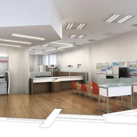 家庭房屋现代室内装潢施工改造平面图装修设计 3d效果图