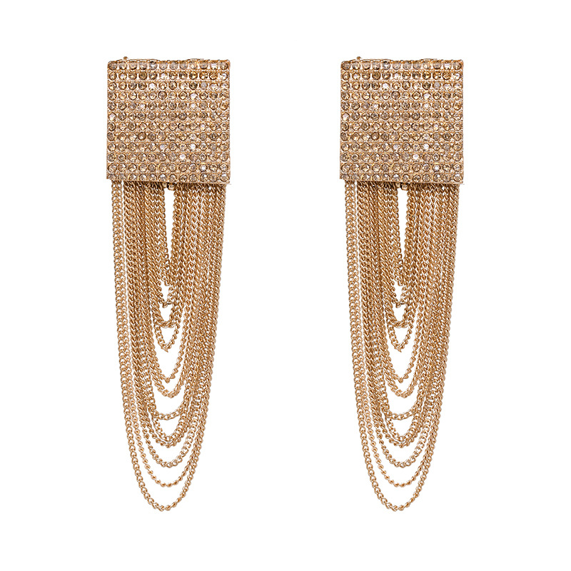 Alloy Fashion Tassel earring  (51143) NHJJ5059-51143