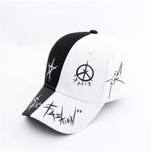 帽子男士夏天潮人百搭鸭舌帽韩版棒球帽女青少年遮阳帽黑白嘻哈帽