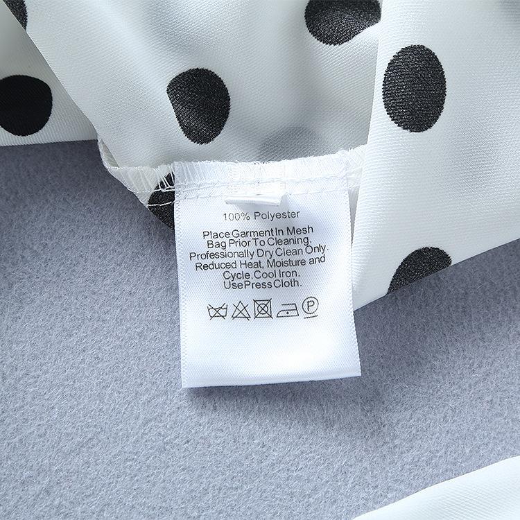 0301-13 波點上衣+網紗蓬蓬裙套裝碼數SML材質聚酯纖