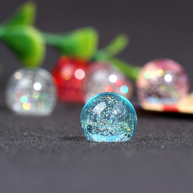 亚克力塑料珠子diy饰品配件塑料珠子透明饰手工串珠材料散珠