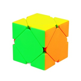 Yu Xin Science and Education Zhisheng small magic oblique magic cube anti-adhesive large card foot steel ball positioning smooth