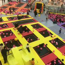 室内大蹦床大型成人儿童跳床蹦蹦床游乐公园户外游乐设备定制