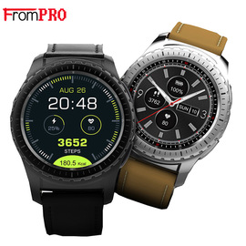 KW28 smartwatch circular multifunctional pluggable card touch screen meter heart rate Bluetooth male and female students fashion waterproof