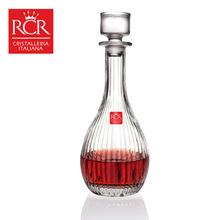 意大利进口RCR永恒系列900ml无铅水晶玻璃醒酒器酒壶酒樽葡萄酒瓶
