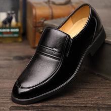 ?#21512;?#23395;爆款男鞋真皮正装男士皮鞋商务休闲品牌经典爸爸鞋大码单鞋