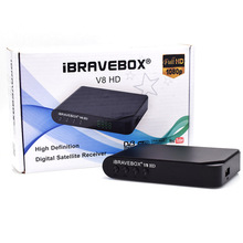 iBRAVEBOX V8 HD DVB-S/S2  SUPPORT WIFI BISS POWEY VU YOUTUBE
