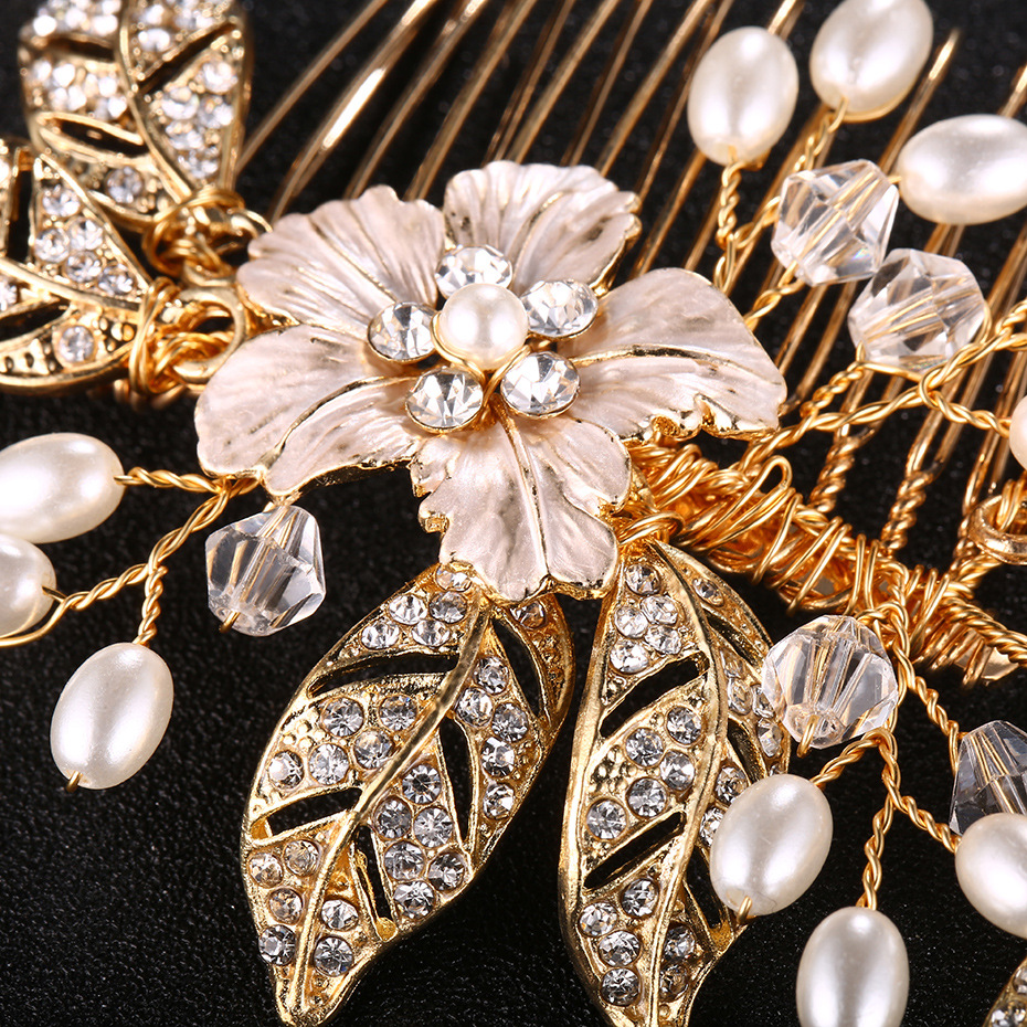Alloy Fashion Flowers Hair accessories  Alloy NHHS0274Alloy