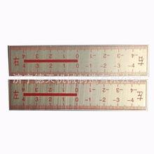 铁路左右标尺测量钢轨尺 位移观测尺 钢轨位移标尺厂家直销
