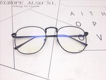 防蓝光近视眼镜框男圆平光电脑镜眼镜女韩版潮护目复古小清新批发