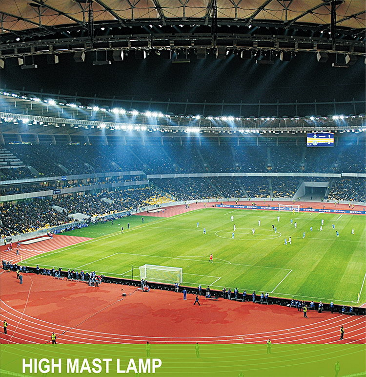 led high mast application