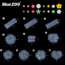 Nail embossed abrasives Flower daisy carved soft film Japanese BLC Tanabe the same paragraph nail silicone mold