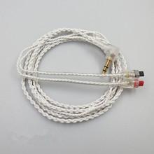 高纯度OFC麻花耳机线可用于ath-im50 im70 im01 im02 03 04