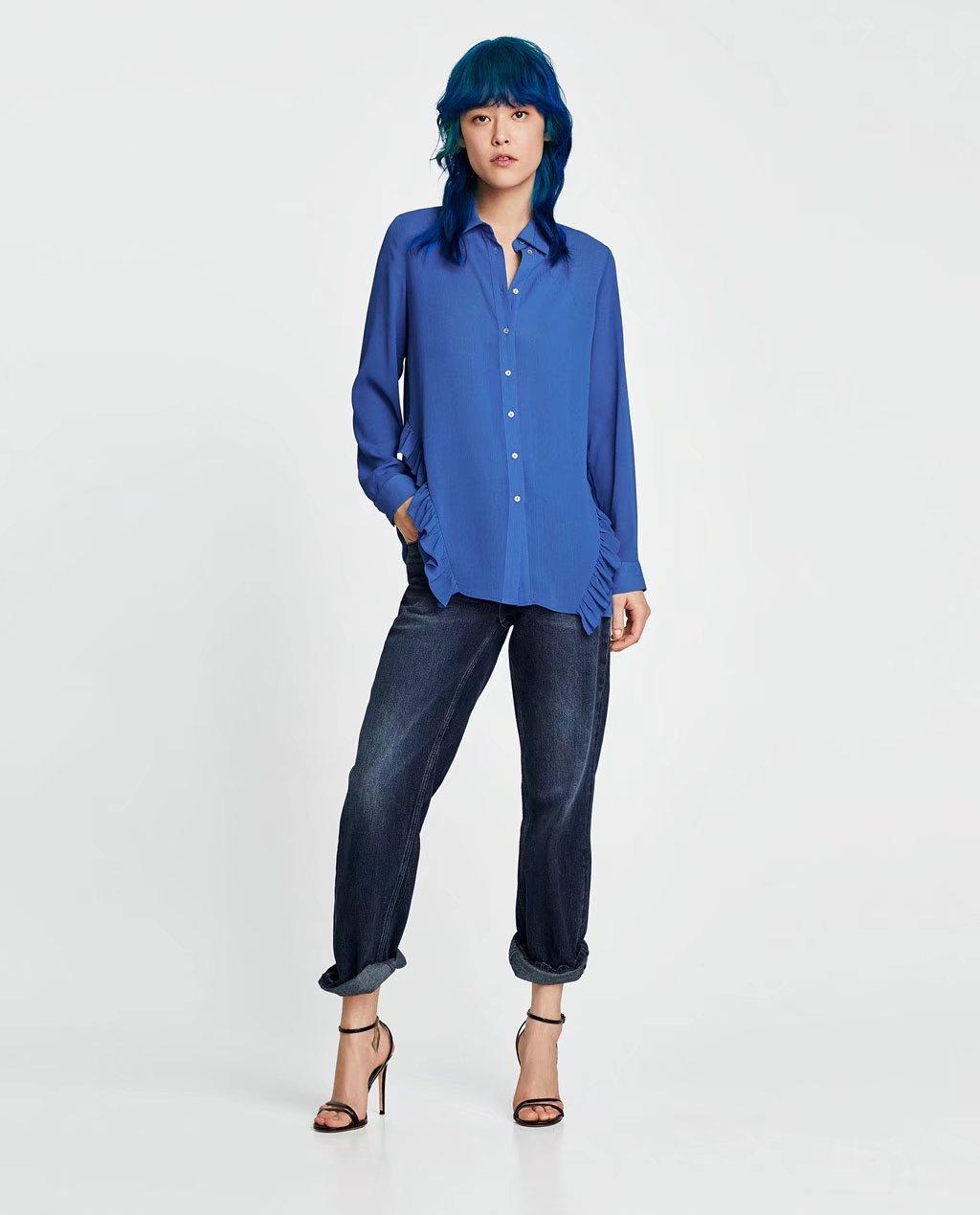 Cotton Fashioncoat(Blue-L) NHAM2469-Blue-L